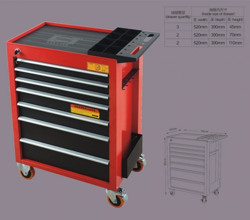 All kinds of tool trolley