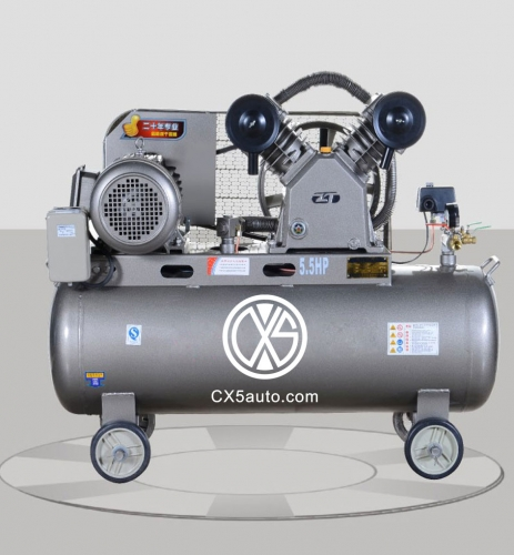 Air cooling movable air compressor