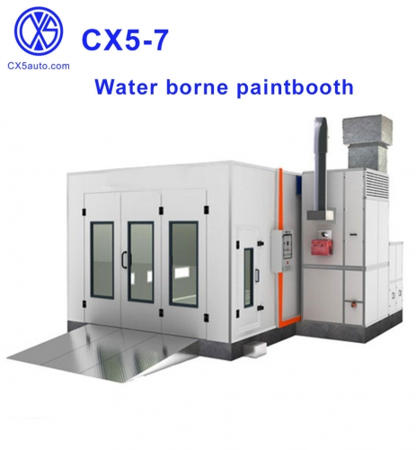 CX5-7 Water borne paint booth
