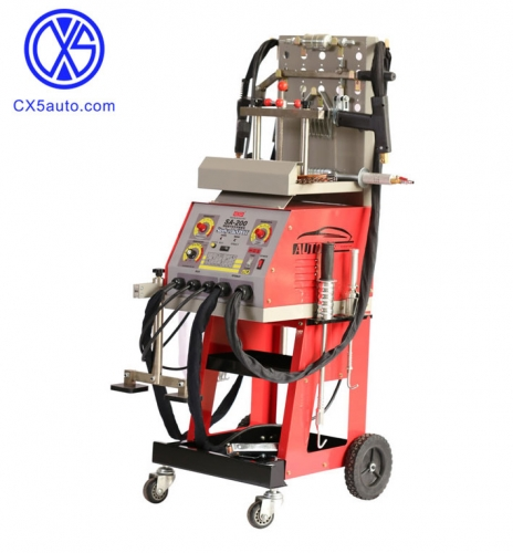 SA-200 Steel and Aluminum body repair machine