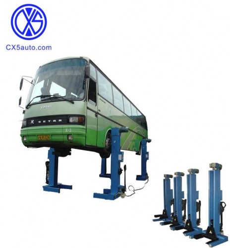 CX5-HDL5.0-4 mobile column heavy duty truck lift