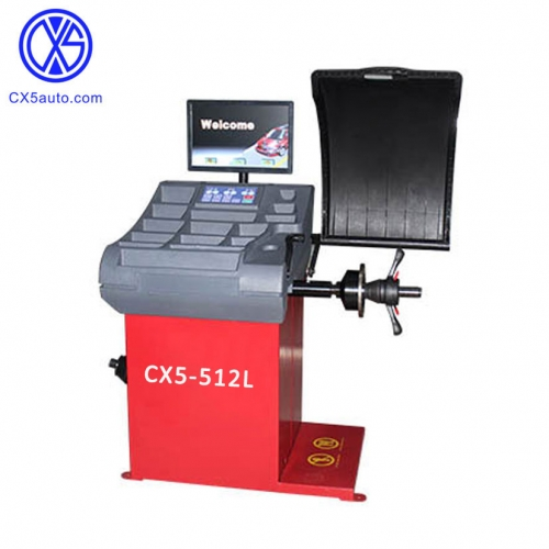 CX5-512L Smart position locator and automatic wheel balancer