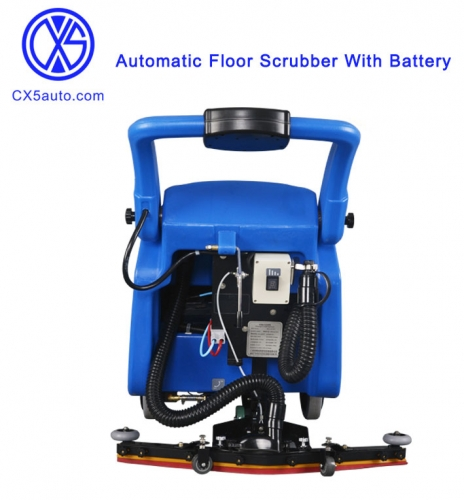 168RPM,415mm water sucker Automatic Floor Scrubber With Battery