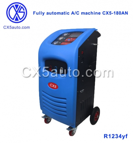 CX5-180AN Car Ac Recovery Machine A/C Service Station R1234yf