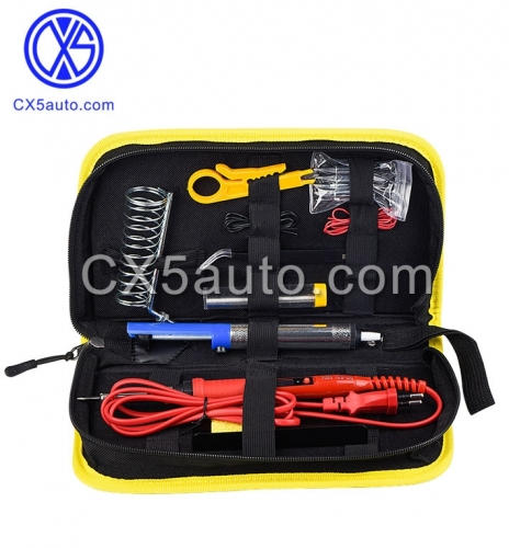 908S 80W Soldering Iron Kit adjustable temperature 110V 220V LCD Solder Welding Tools