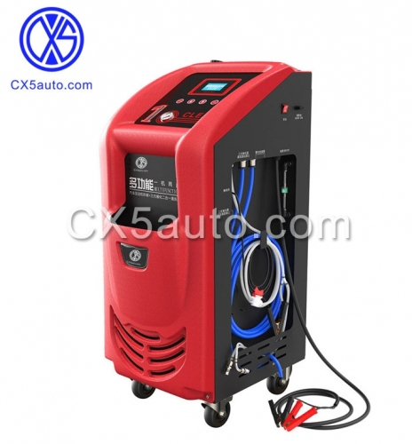 Engine carbon cleaning and Catalytic converter cleaner machine